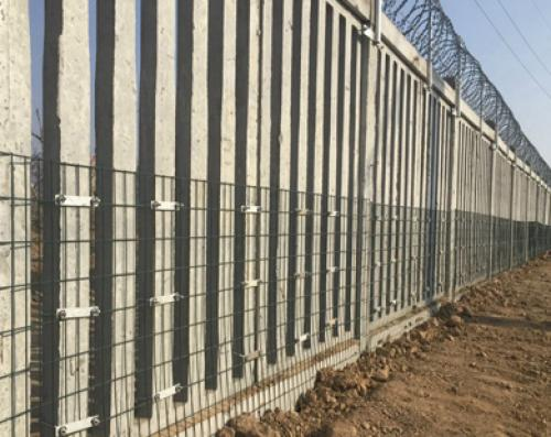 防护栅栏加密网