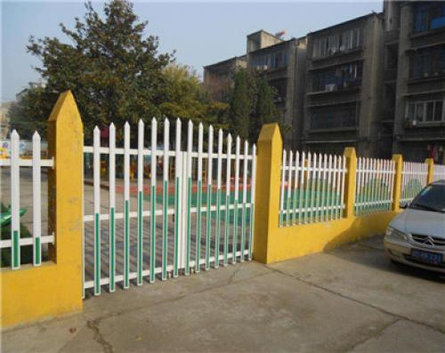 PVC围墙栅栏